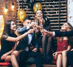Prednovoletne zabave v dobri družbi in na pravem mestu