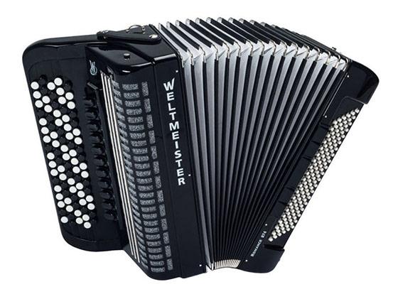 Kromatična harmonika Weltmeister Romance 874