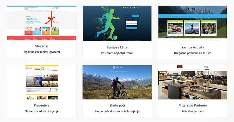 Reference izdelanih spletnih strani