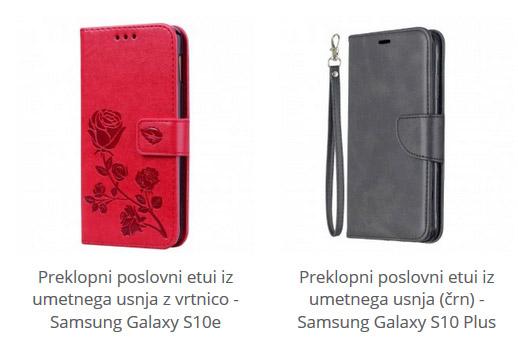 Preklopni etui za Samsung Galaxy S10