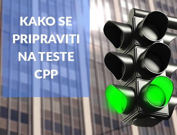 Kako se učinkovito pripraviti na republiške teste CPP?
